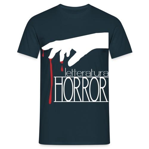 T-Shirt LetteraturaHorror.it uomo - Maglietta da uomo