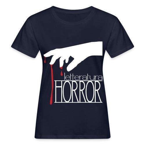 T-Shirt LetteraturaHorror.it donna - T-shirt ecologica da donna