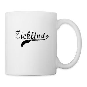 Zicklinde (schwarz) | Kaffee Tasse - Tasse