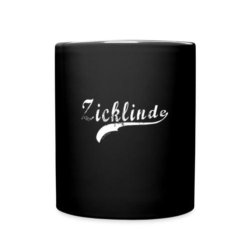 Zicklinde (weiss) | Kaffee Tasse - Tasse einfarbig