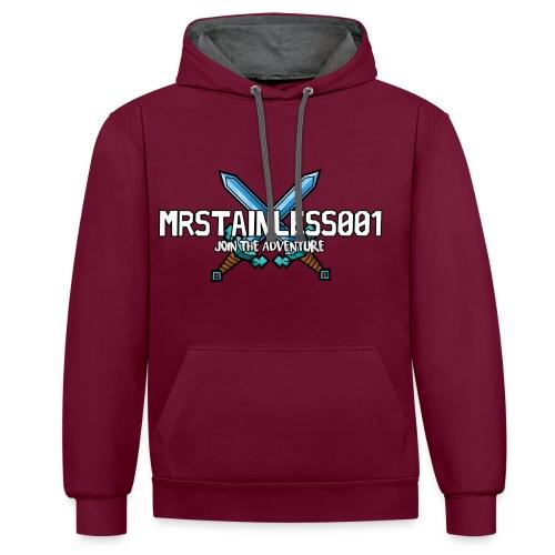 MrStainless001 - Premium Hoodie - Contrast Colour Hoodie