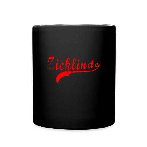 Zicklinde (rot) | Kaffee Tasse - Tasse einfarbig