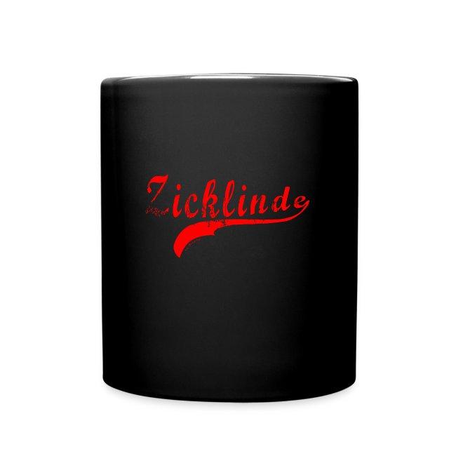 Zicklinde (rot) | Kaffee Tasse