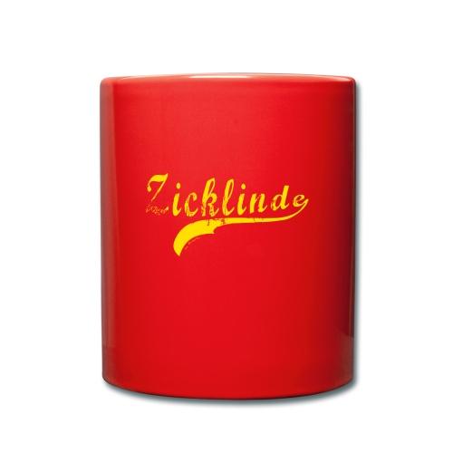 Zicklinde (gelb) | Kaffee Tasse - Tasse einfarbig