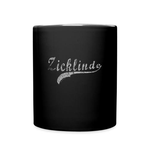 Zicklinde (vintage) | Kaffee Tasse - Tasse einfarbig