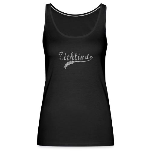 Zicklinde (vintage) | Zicken Top - Frauen Premium Tank Top