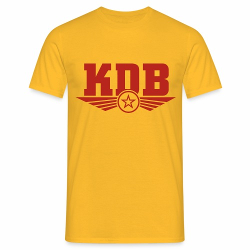 KDB Yellow - Men's T-Shirt