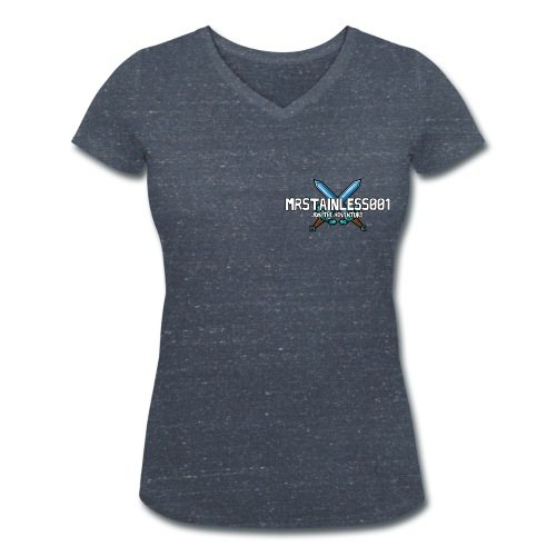 Women's MrStainless001 Tee - Women's Organic V-Neck T-Shirt by Stanley & Stella