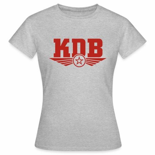 KDB Grey girls - Women's T-Shirt