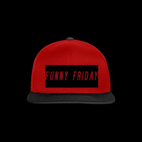 Funny Friday Snapback Cap - Snapback Cap