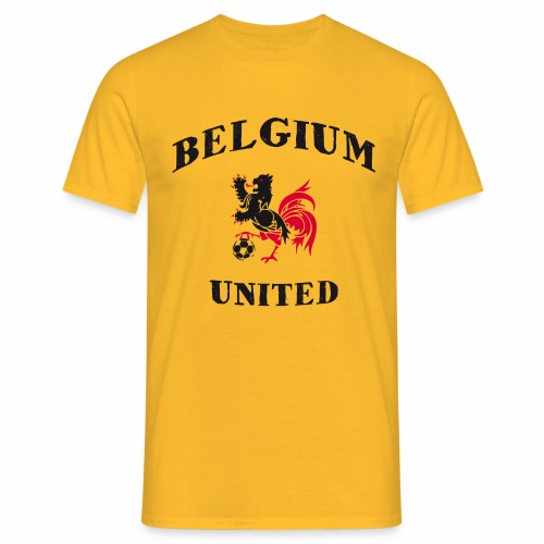 Belgium Unit Yellow  - Men's T-Shirt
