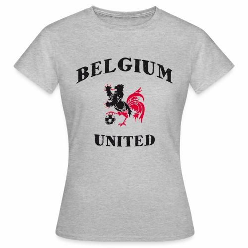 Belgium Unit Grey Girls - Women's T-Shirt