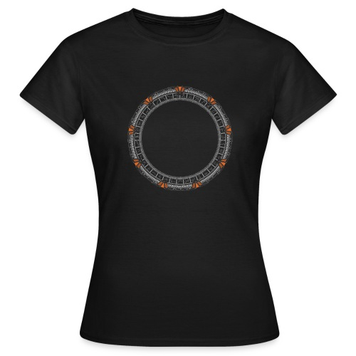 Orange Portal - Women's T-Shirt