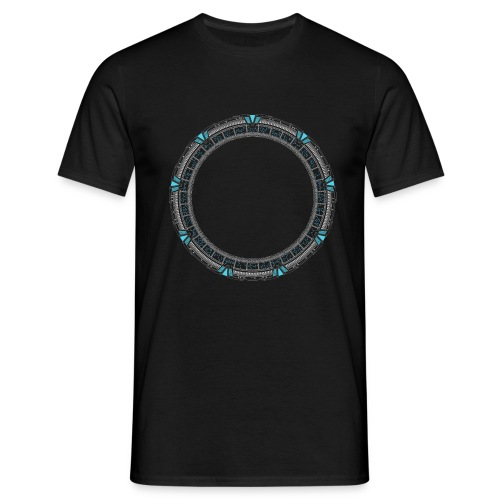 Blue Portal - Men's T-Shirt