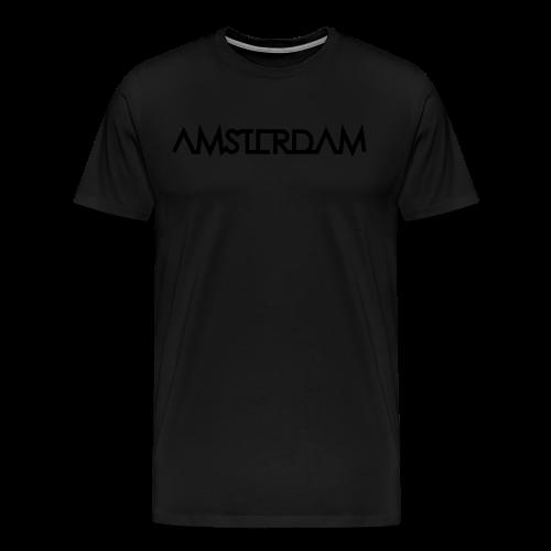 T-shirt Amsterdam II - Mannen Premium T-shirt