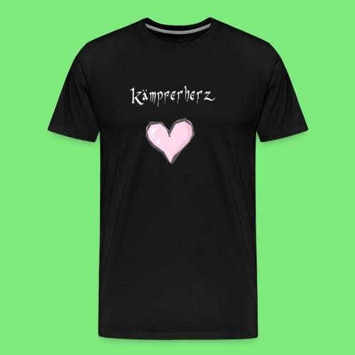 Kämpferherz Schafi - T-Shirt Böcke - Männer Premium T-Shirt