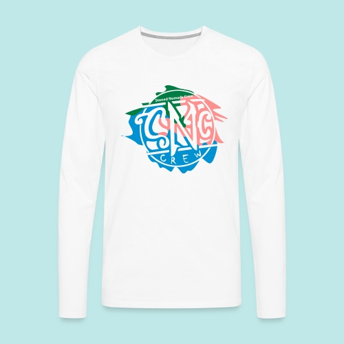 Snc-crew Shirts, fresh for Graffit writers... - Männer Premium Langarmshirt