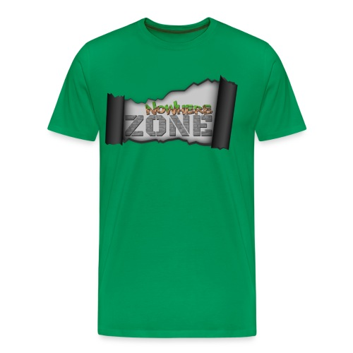 Nowhere Zone Men Tee - Mannen Premium T-shirt