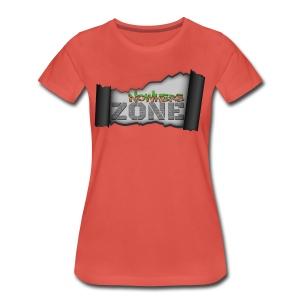 Nowhere Zone Women Tee - Vrouwen Premium T-shirt