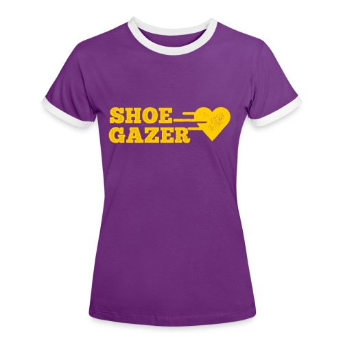 ShoeGazer - Women's Ringer T-Shirt