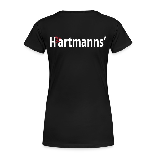 H(e)artmanns' Damen-T-Shirt schwarz - Frauen Premium T-Shirt