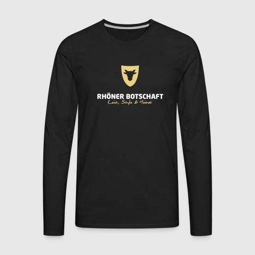 Langarmshirt Männer Rhöner Botschaft - Männer Premium Langarmshirt
