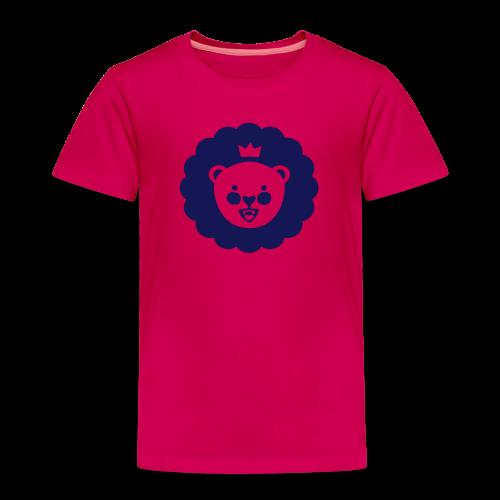 Löwe Django navy - Kinder Premium T-Shirt