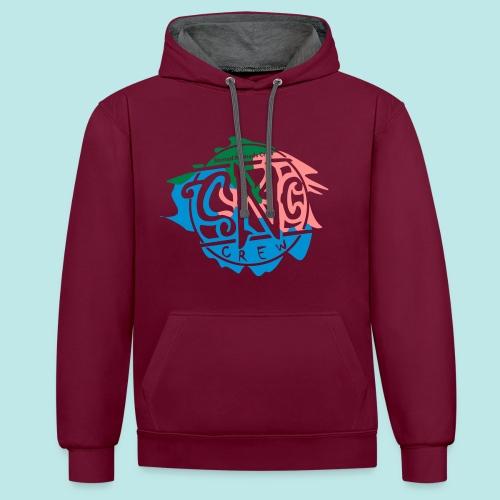Snc-crew Shirts, fresh for Graffit writers... - Kontrast-Hoodie
