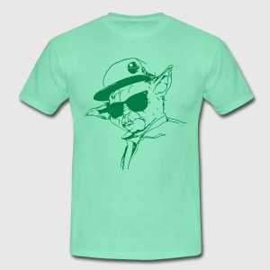 Start Wars Yoda Hipster Shirt lime/green - Männer T-Shirt