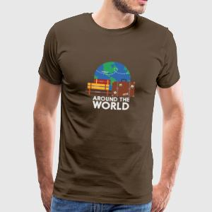 Around the world T-Shirts - Men's Premium T-Shirt