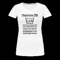 Pflegehinweise 70. Geburtstag T-Shirt