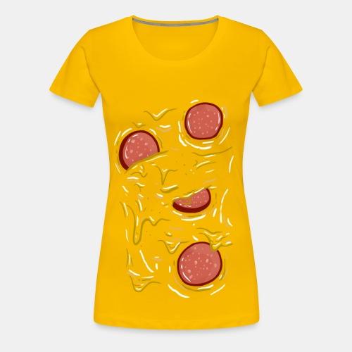 Pizza Salami (Girls) - Frauen Premium T-Shirt