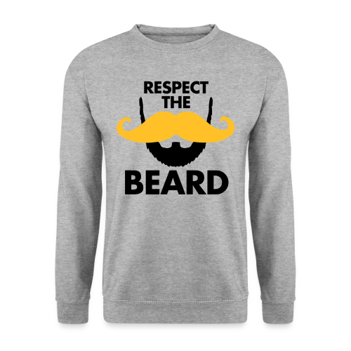 Respect The Beard Sweatshirt - Men's Sweatshirt
