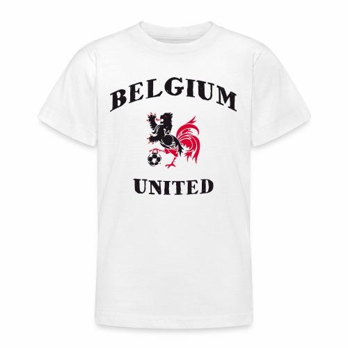 Belgium Unit White Kids - Teenage T-Shirt