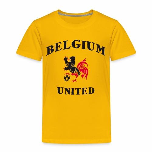 Belgium Unit Yellow Kids - Kids' Premium T-Shirt