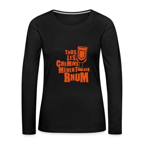 Tee shirt femme  - T-shirt manches longues Premium Femme