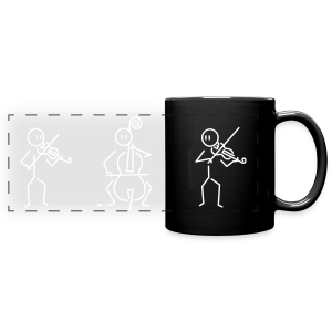 Trio (2 violins, 1 cello) - Full Color Panoramic Mug