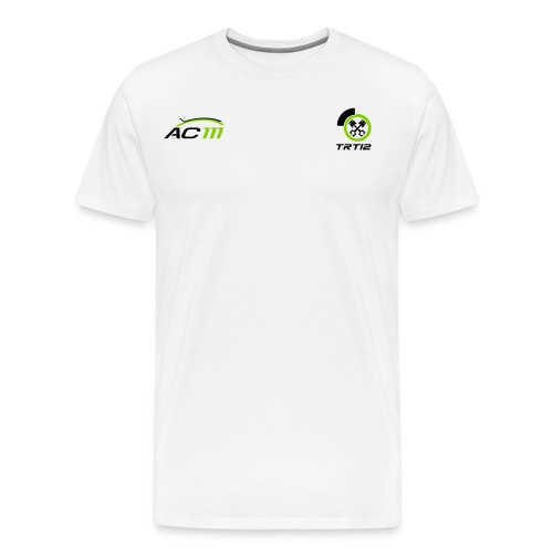 T Shirt AC111TRT simple - T-shirt Premium Homme