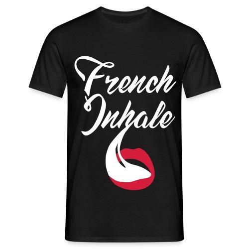 French Inhale - Männer T-Shirt