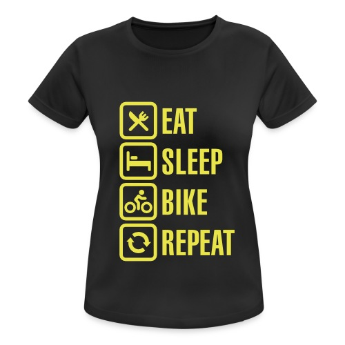t shirt sport humoristique - T-shirt respirant Femme