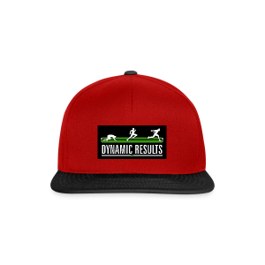 Dynamic Red Cap - Snapback Cap