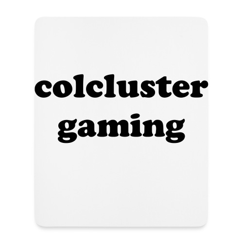 colcluster mouse pad - Mouse Pad (vertical)