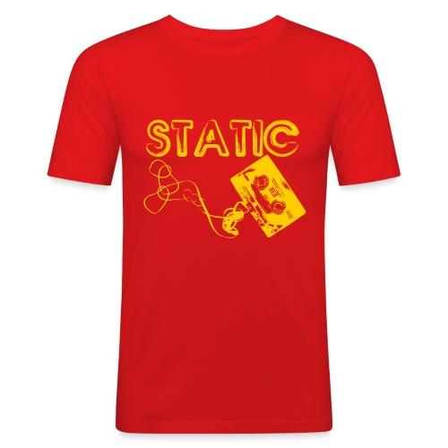 Static Tape - Men's Slim Fit T-Shirt