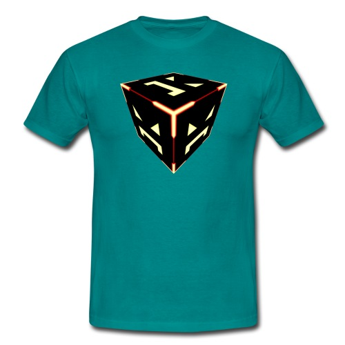 Byte Damage Boss Cube - Men's T-Shirt