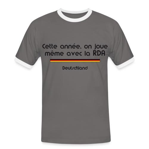 Allemagne rétro - T-shirt contrasté Homme