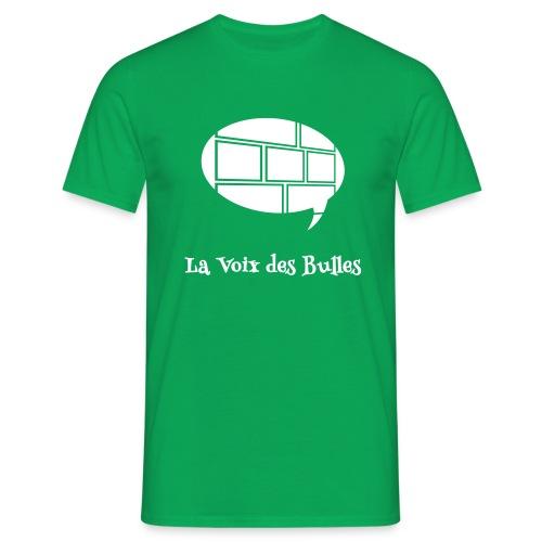 T-shirt Homme - Le t-shirt officiel de la Voix des Bulles !