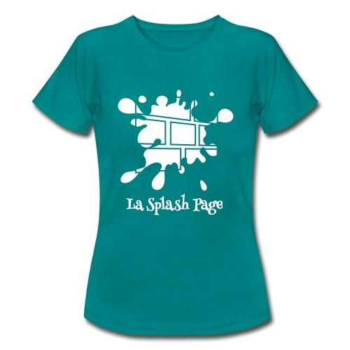 T-shirt Femme - Le t-shirt officiel de la Splash Page, un podcast de La Voix des Bulles !