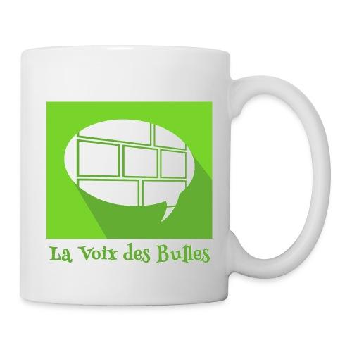 Mug blanc - Le mug officiel de la Voix des Bulles !