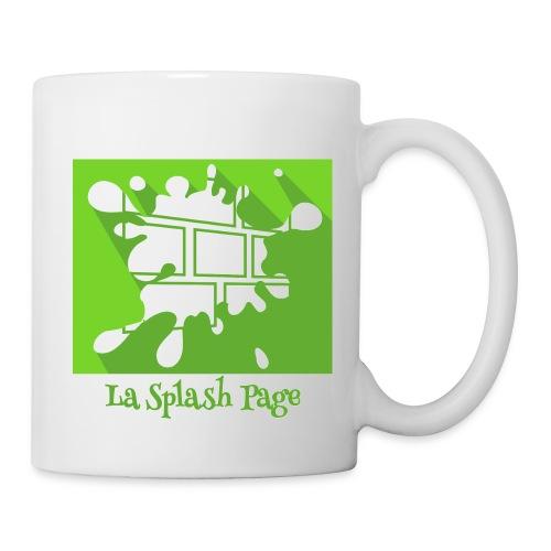 Mug blanc - Le mug officiel de la Splash Page, un podcast de La Voix des Bulles !