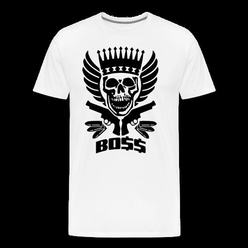 Skrull-Boss & Guns - Männer Premium T-Shirt